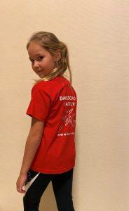 Tshirt rood 7-8 jaar 122-128 cm (3)